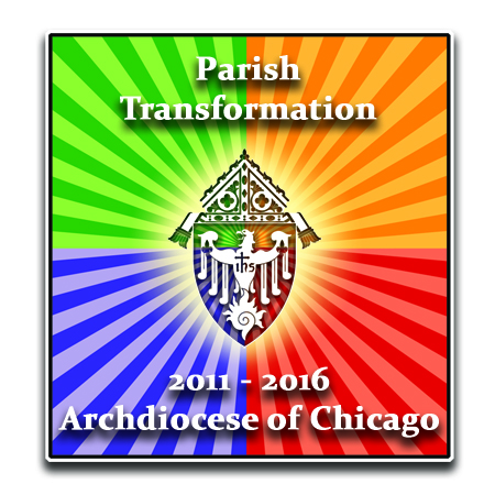 Parish Transformation logo, Archdiocese of Chicago