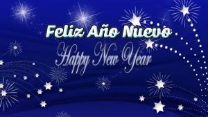 Feliz Año Nuevo, Happy New Year