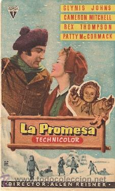 La Promesa, póster de la película