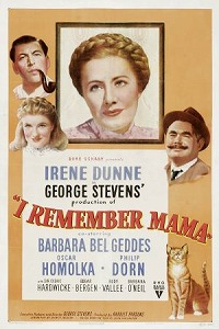 poster for I Remember Mama