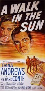 Poster for the film A Walk in the Sun