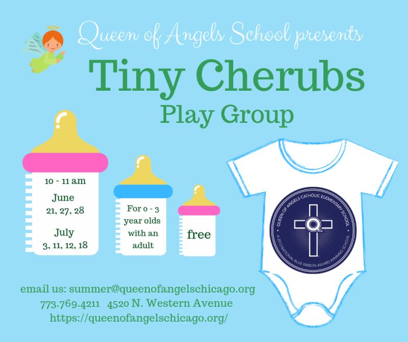 Tiny Cherubs play group, summer 2019